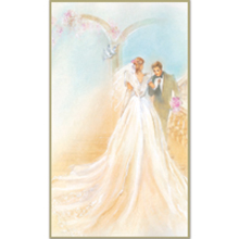 Wedding 8-UP Holy Card