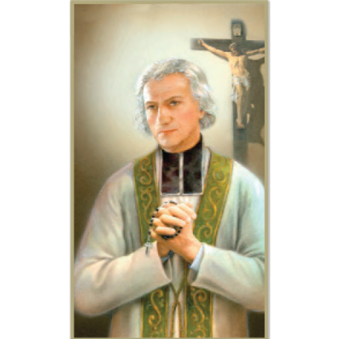 St. John Vianney 8-UP Holy Card