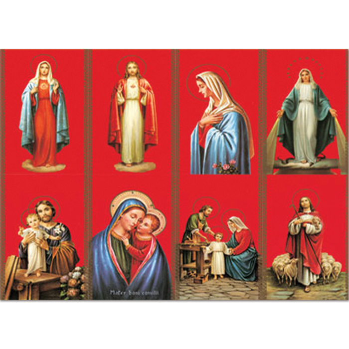 Assorted Siena Holy Card