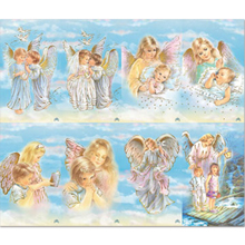 Assorted Angels 8-UP Holy Cards
