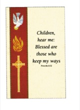Confirmation Holy Card - Paper