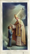 Confirmation Holy Card - Boy