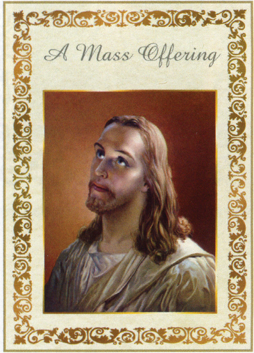 A Mass Offering Card