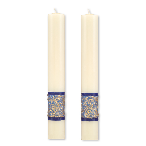 """Sea of Galilee"" Paschal Side Candles"