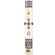 """Sea of Galilee"" Paschal Candle"