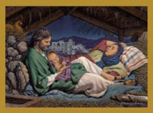 All is Calm Holy Family Christmas Card