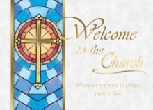 Welcome to the Church Mass Card