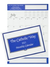 Odd Year Catholic Way Monthly Calendar