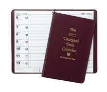 Odd Year Liturgical Desk Calendar Catholic Edition