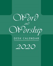 Even Year Word and Worship Desk Calendar