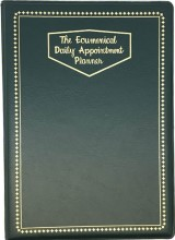 Deluxe Even Year Ecumenical Daily Appointment Book