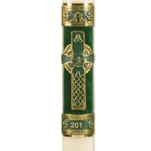 """Celtic Imperial"" Paschal Candle"