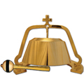Large Solid Brass Gong with Striker