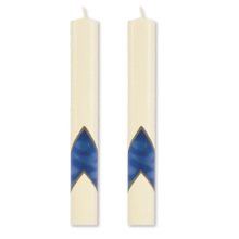 """Serenity"" Paschal Side Candles"