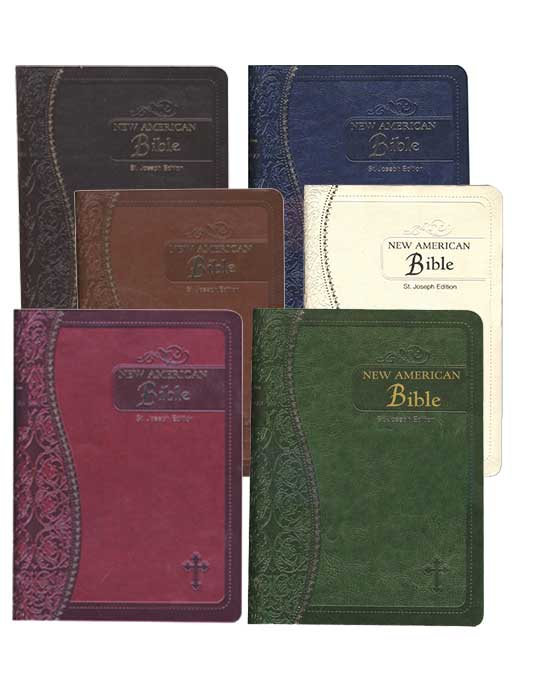 St. Joseph Bible Imitation Leather Medium Edition
