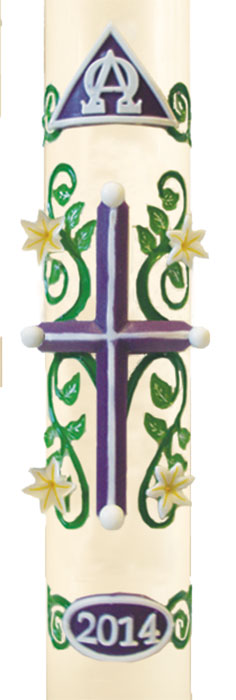 """Easter Lily"" Paschal Candle"