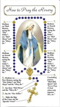 graphic regarding How to Pray the Rosary Printable Booklet called How in the direction of Pray the Rosary Pamphlet