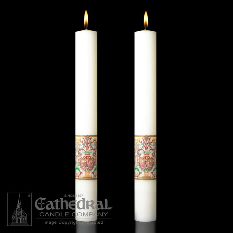 Investiture Paschal Candle - 51% Beeswax