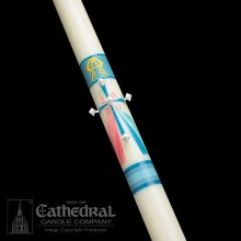"""Divine Mercy"" Paschal Candle"