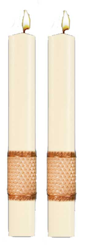 San Damiano Beeswax Paschal Side Candle