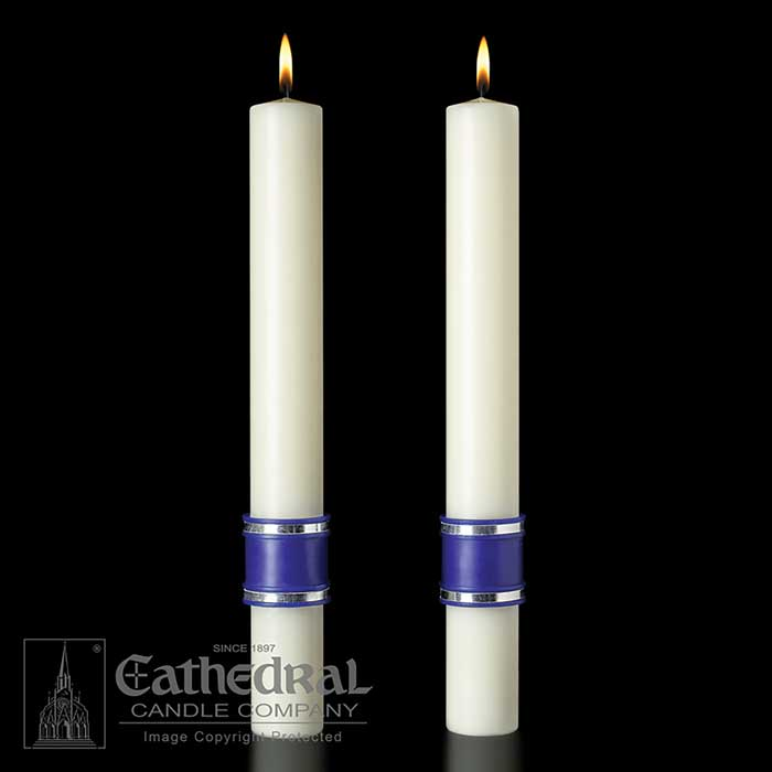 """Messiah"" Paschal Side Candles"