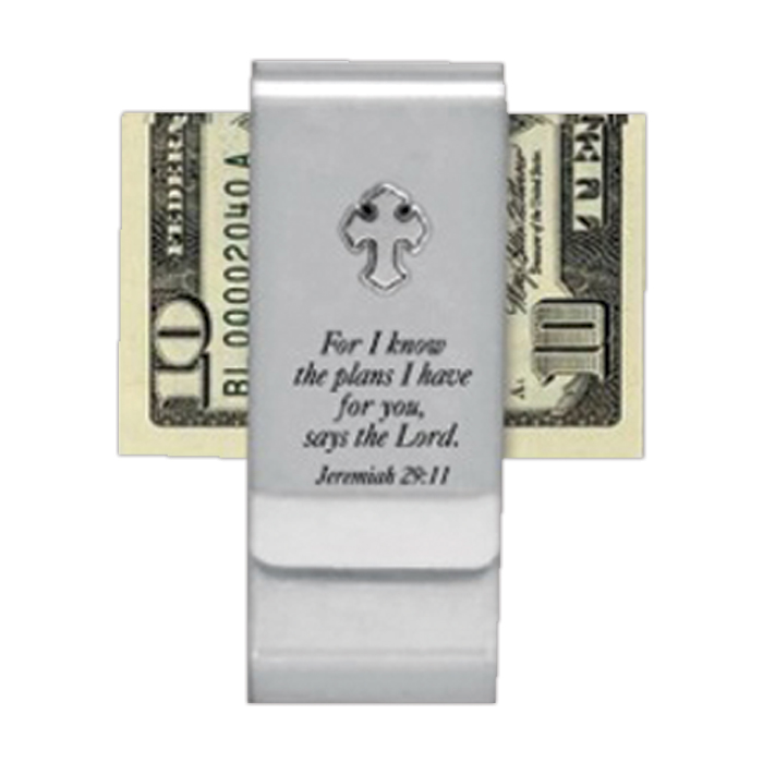 Graduation Double Money Clip