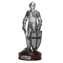 Armor of God Knight Statue