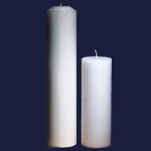 Ceremonial White Candle