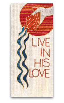 Live In His Love Tapestry