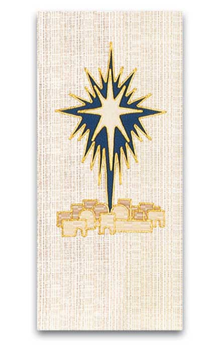Christmas Shining Star Altar Cover