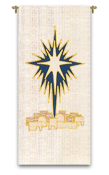 Christmas Shining Star Tapestry