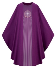 Advent Star Chasuble