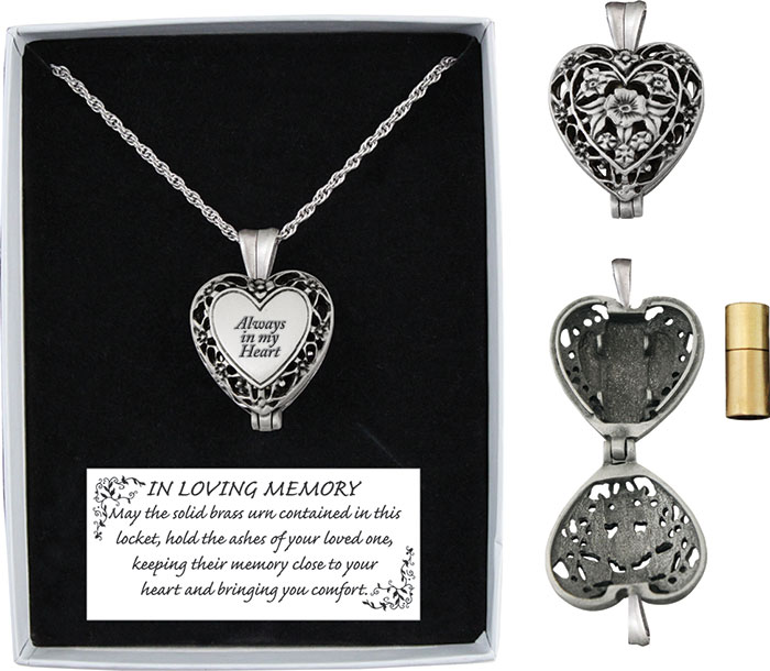 Heart Memorial Locket