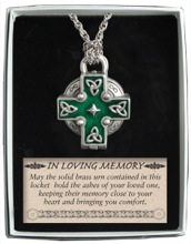 Celtic Memorial Locket