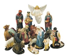 "36"" Nativity Scene - Indoor/ Outdoor"