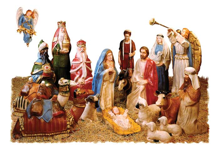 16 Piece Life Size Nativity Set