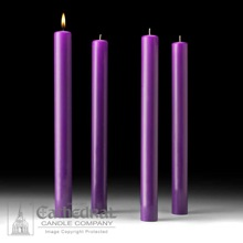Purple Lenten Altar Candles