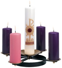 Wrought Iron Advent Wreath