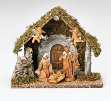 5 Figure Wedding Nativity Set
