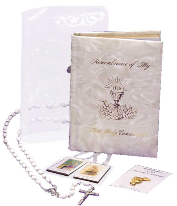 Girl's First Communion Marian Gift Set
