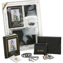 Boy's First Communion Boxed Gift Set