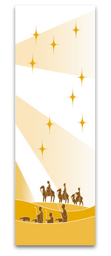 Epiphany Hanging Indoor Banner
