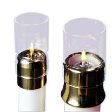 Draft Protector For Paraffin Candle Shells