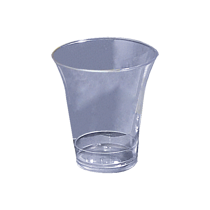Clear Plastic Disposable Communion Cups